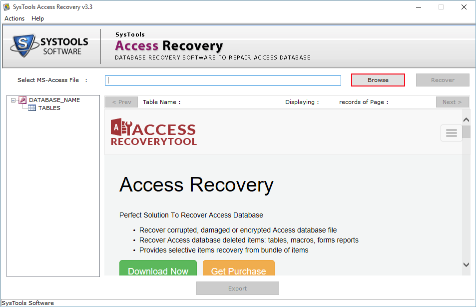 Ms access search in multiple mdb and accdb files software free.