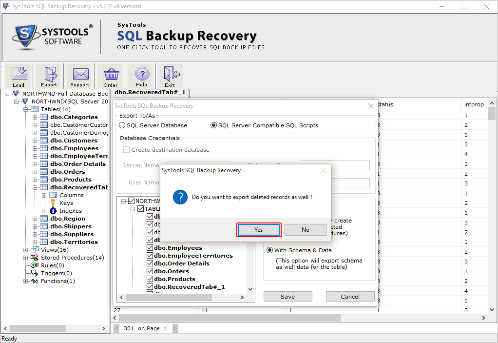 export-deleted-records-backup